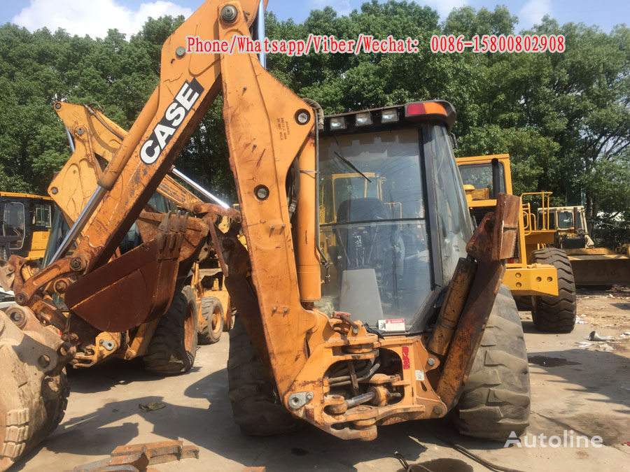 CASE 580M backhoe loader