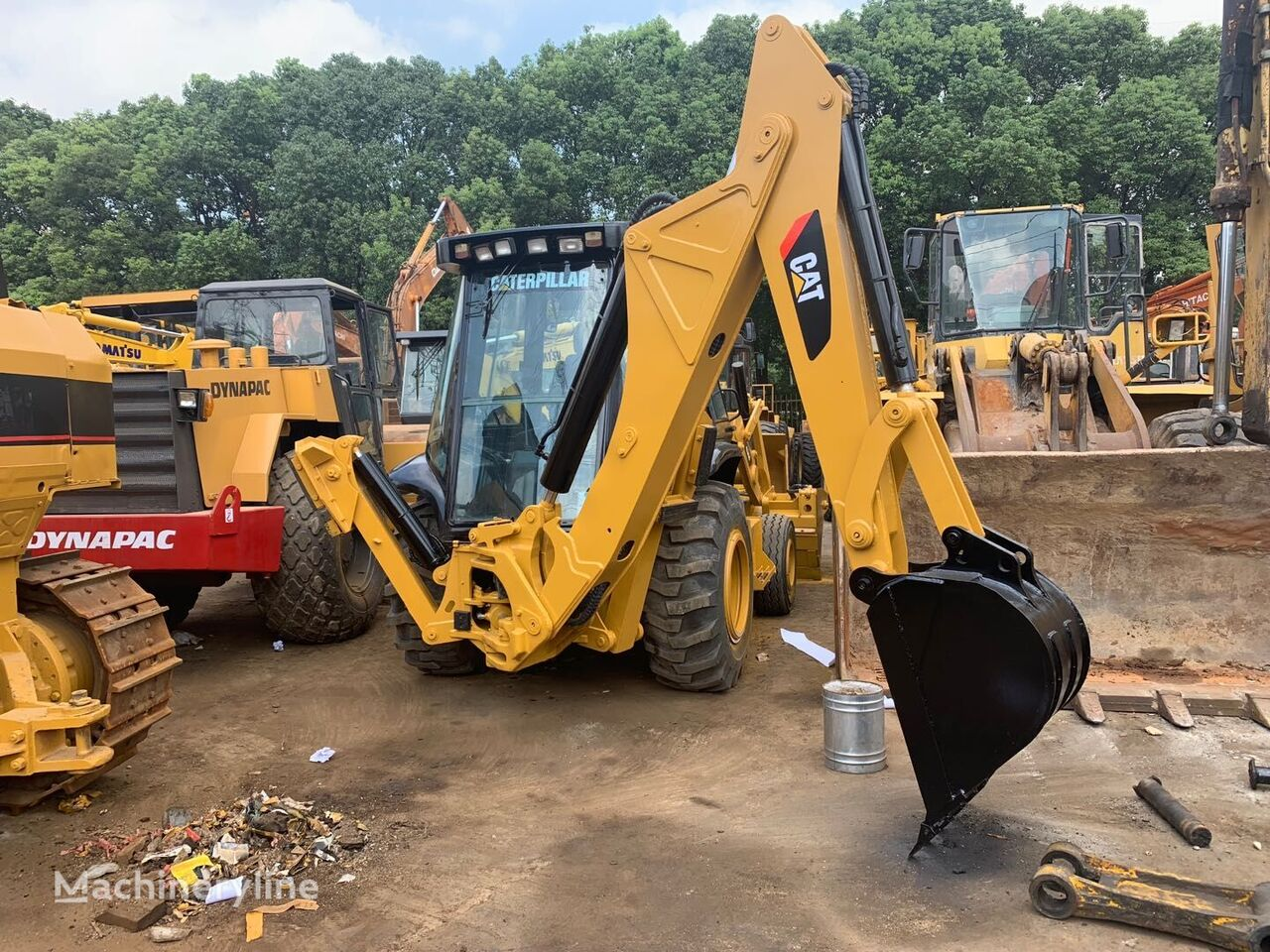 CATERPILLAR 430F backhoe loader