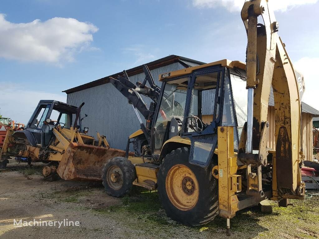 CATERPILLAR 438C backhoe loader for parts