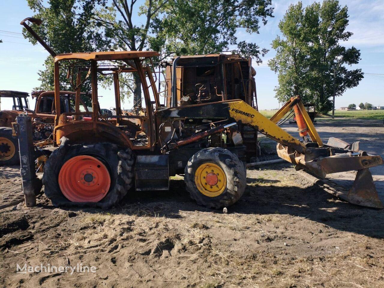 FERMEC 860 Parts Części backhoe loader for parts