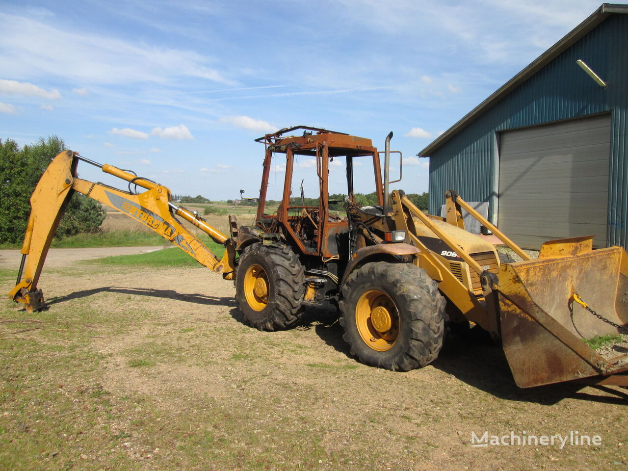 HYDREMA 906B - 906C - 906CII spare parts backhoe loader for parts