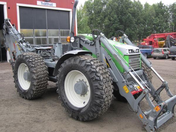 LäNNEN 8800 E  backhoe loader for parts