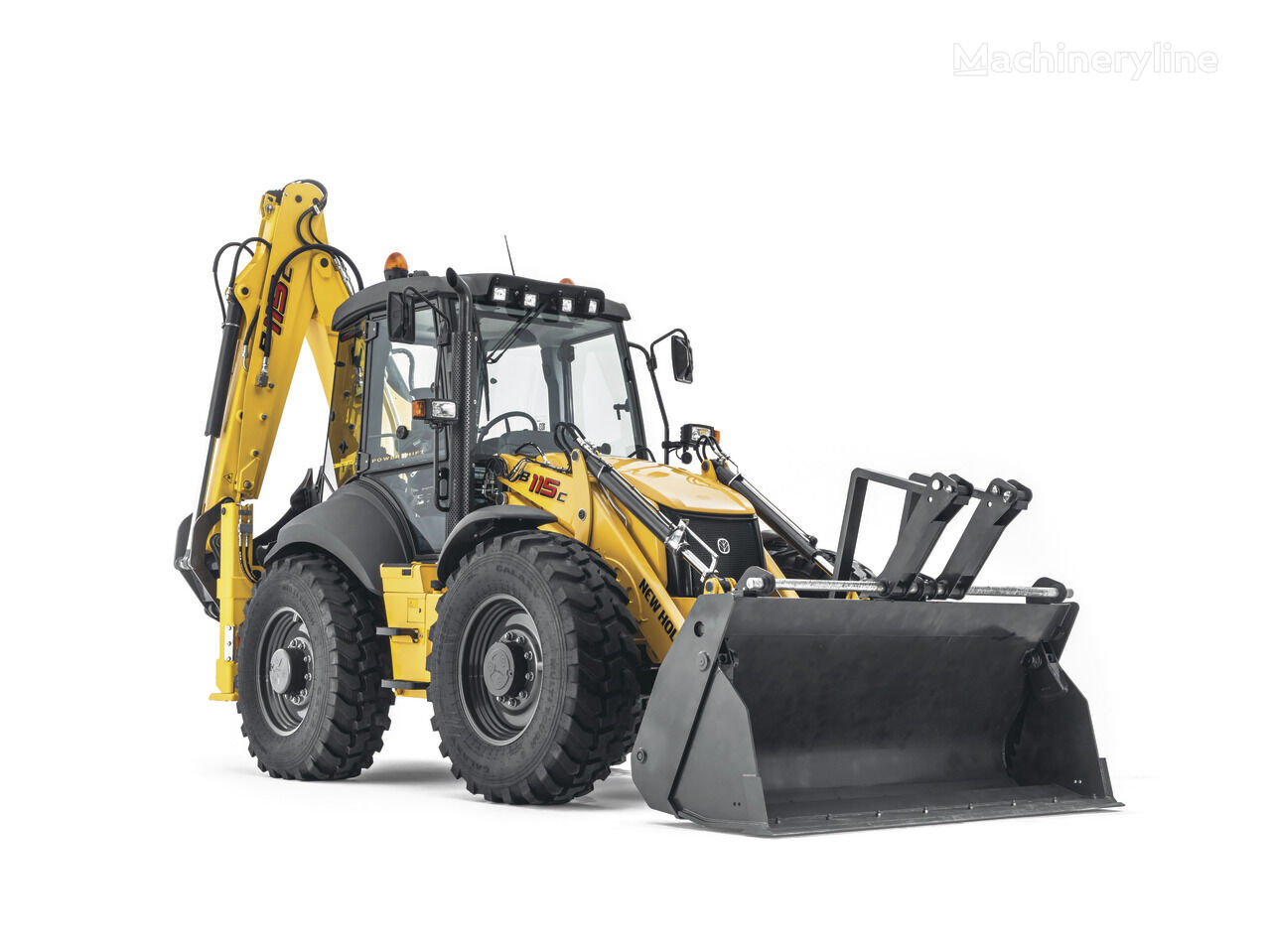 new NEW HOLLAND B 115C backhoe loader