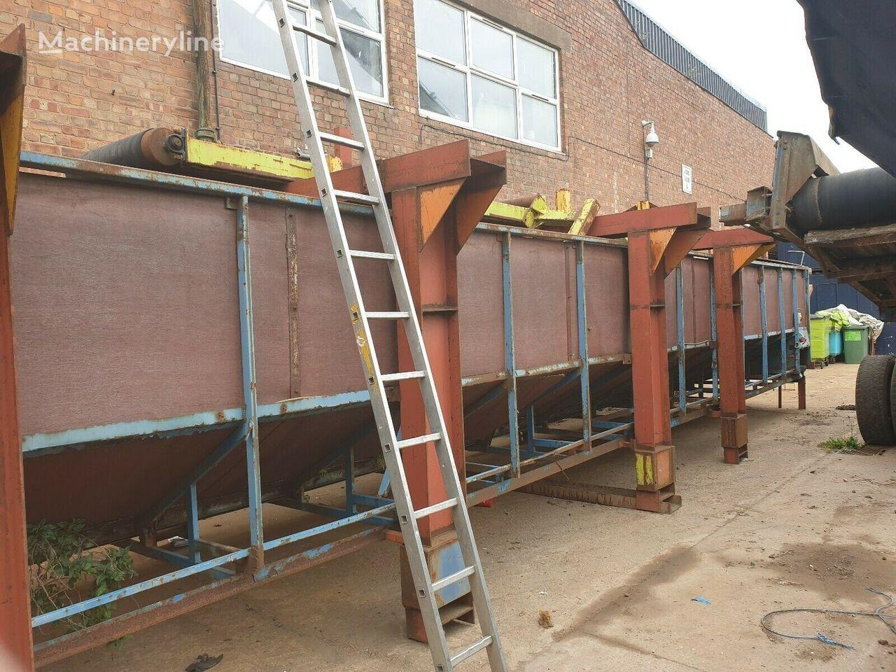 Hopper Conveyor belt conveyor