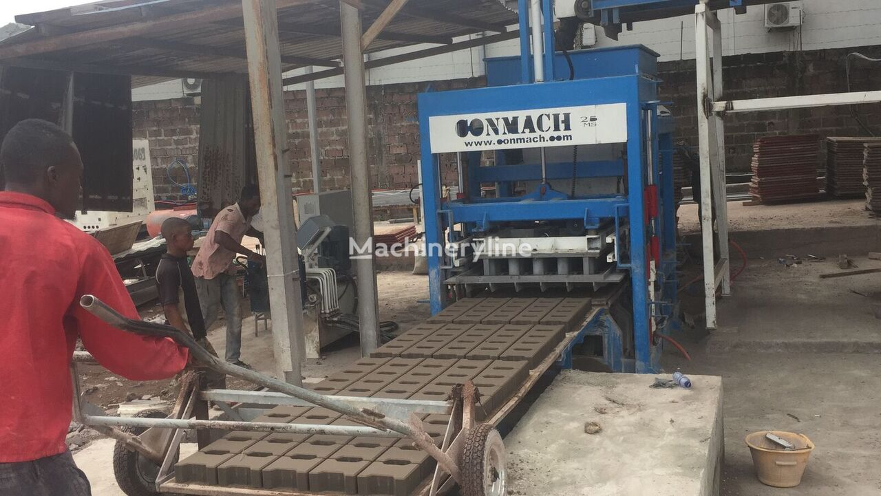 new CONMACH BLOCKKING-25MS block making machine