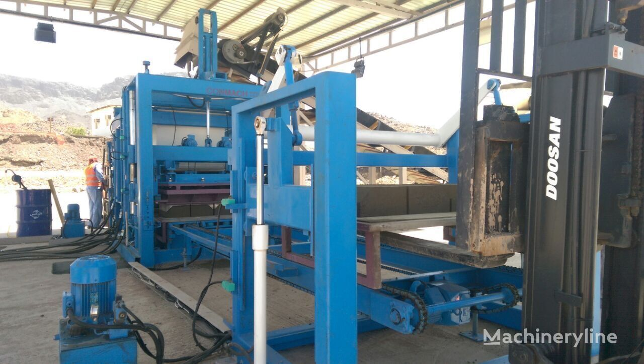 new CONMACH BLOCKKING-30MD block making machine