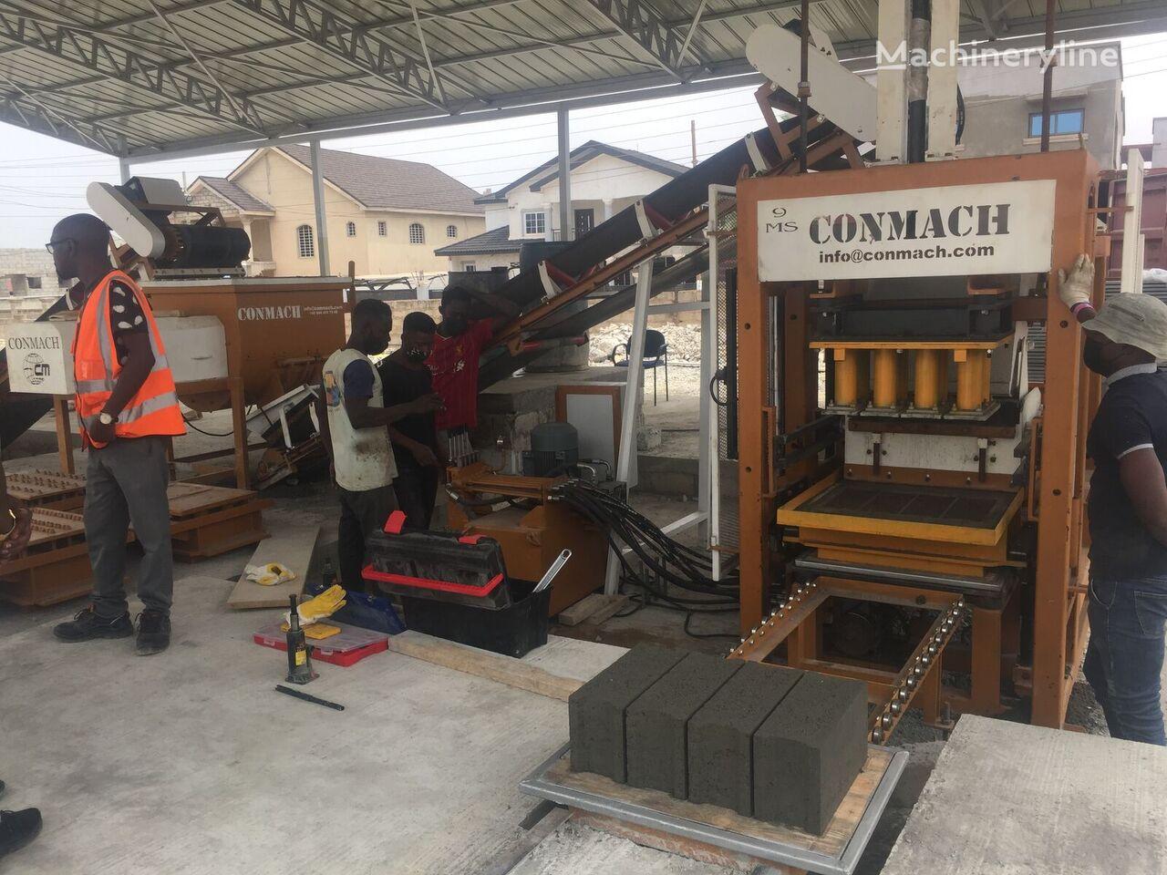 new CONMACH BlockKing-09MS block making machine