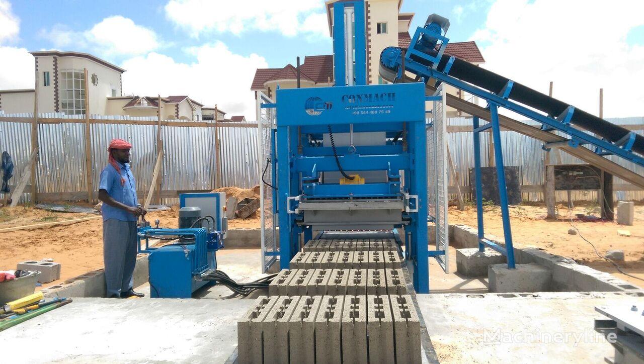 new CONMACH BlockKing-12 MS block making machine