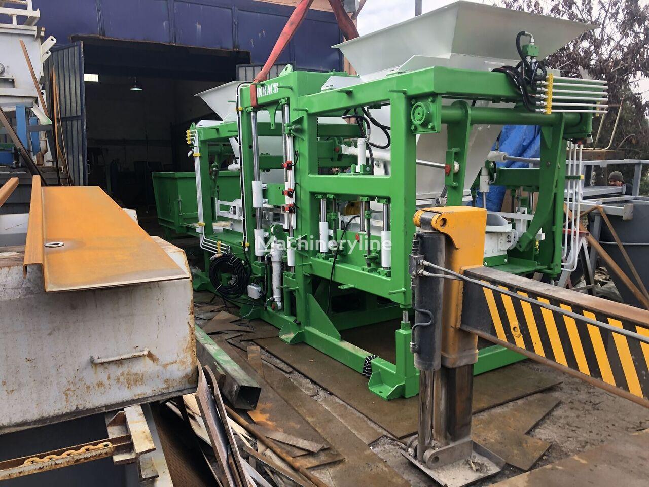 new CONMACH BlockKing-20MD block making machine