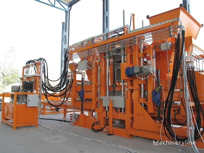 new SUMAB High Block Output! R-1500 (3000 blocks/hour) Stationary block ma block making machine