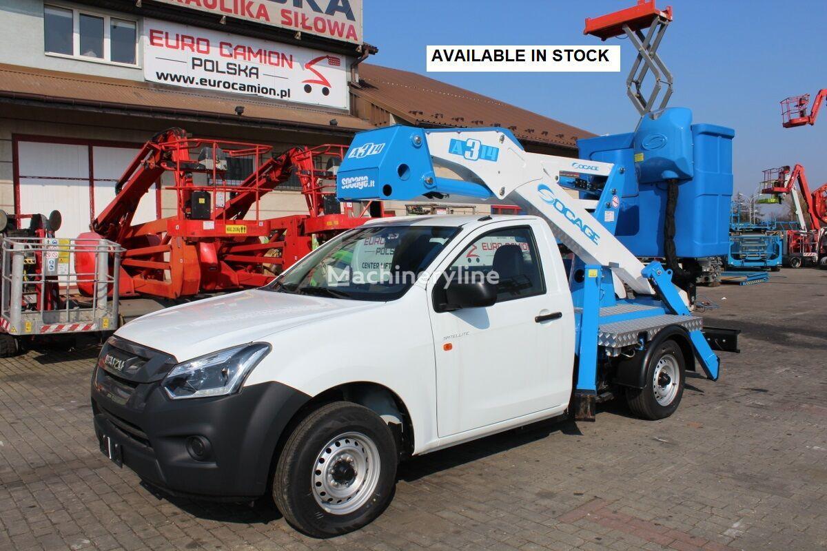 new ISUZU D-Max Satellite New Pick up 14 m Socage A 314 !  bucket truck