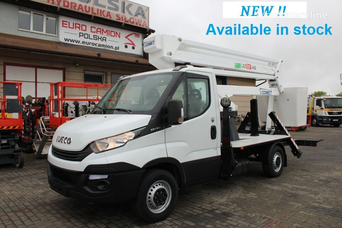 new IVECO Daily - 22 m Comet NEW EUROSKY 22/2/10 HQ JIB bucket truck
