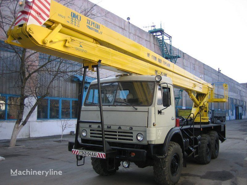 KAMAZ bucket truck