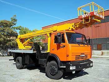 KAMAZ AP-22 bucket truck