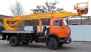 KAMAZ AP-28 bucket truck