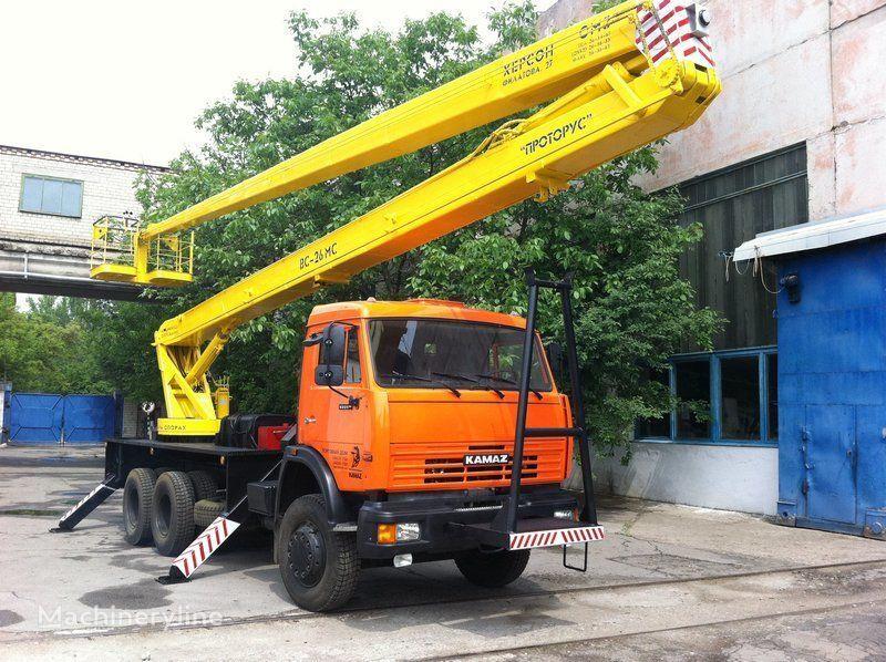 KAMAZ VS—26  bucket truck