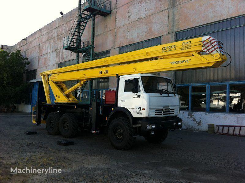 KAMAZ VS—28  bucket truck