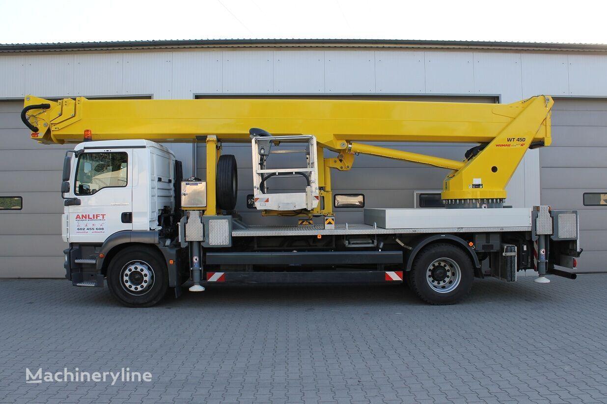 MAN  TGM 18.280  bucket truck