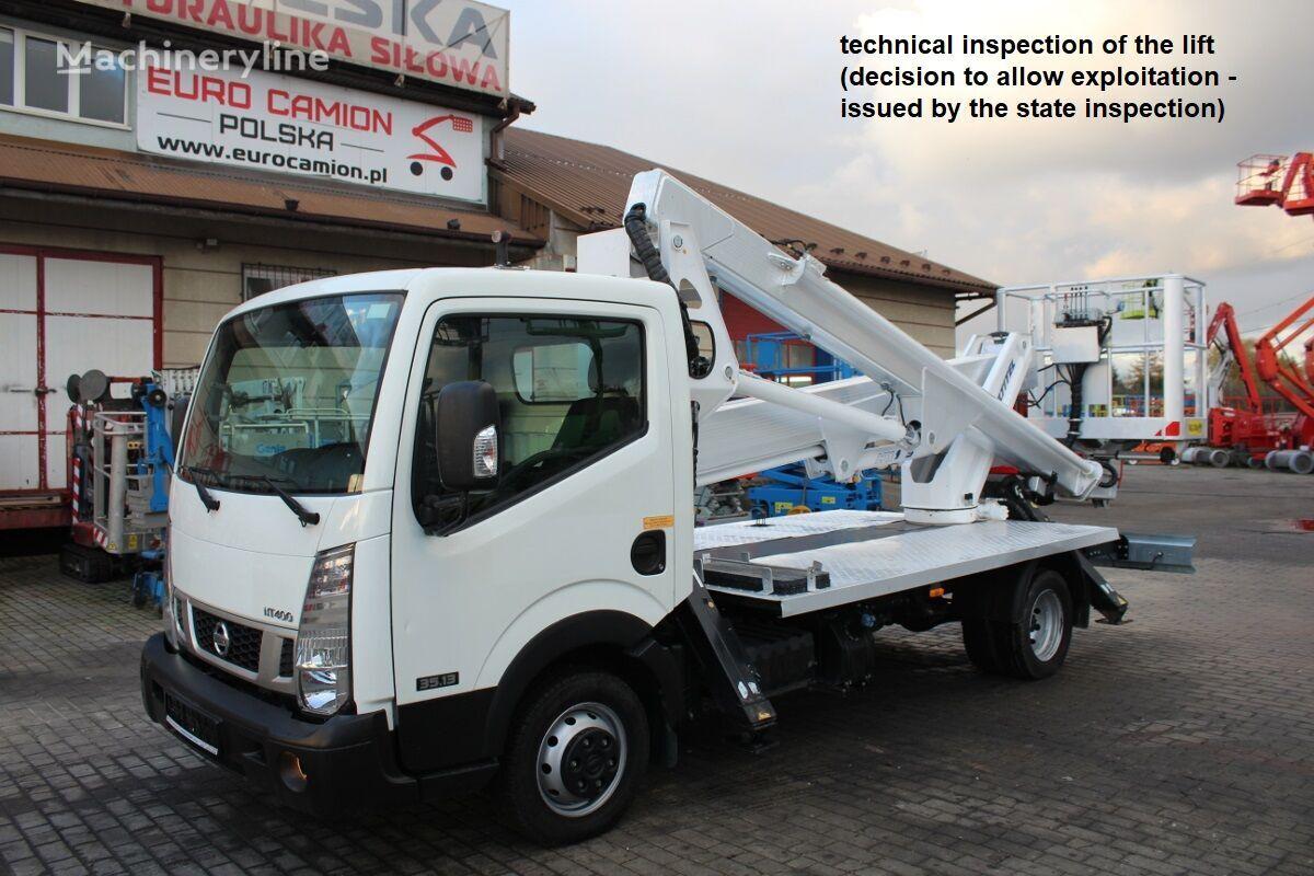 NISSAN Cabstar - 20 m Multitel HX195 (technical inspection) bucket truck