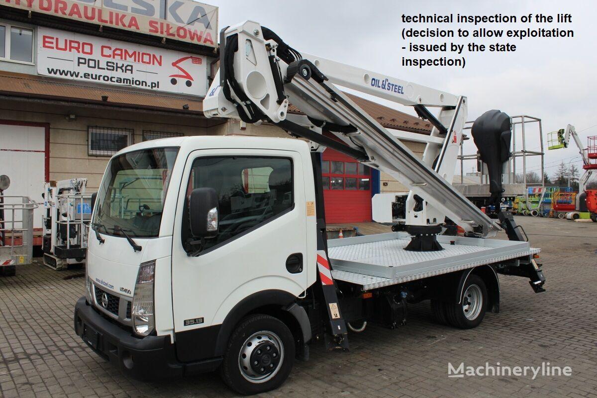 NISSAN Cabstar 21 m Oil&Steel Snake 2112 Smart bucket truck
