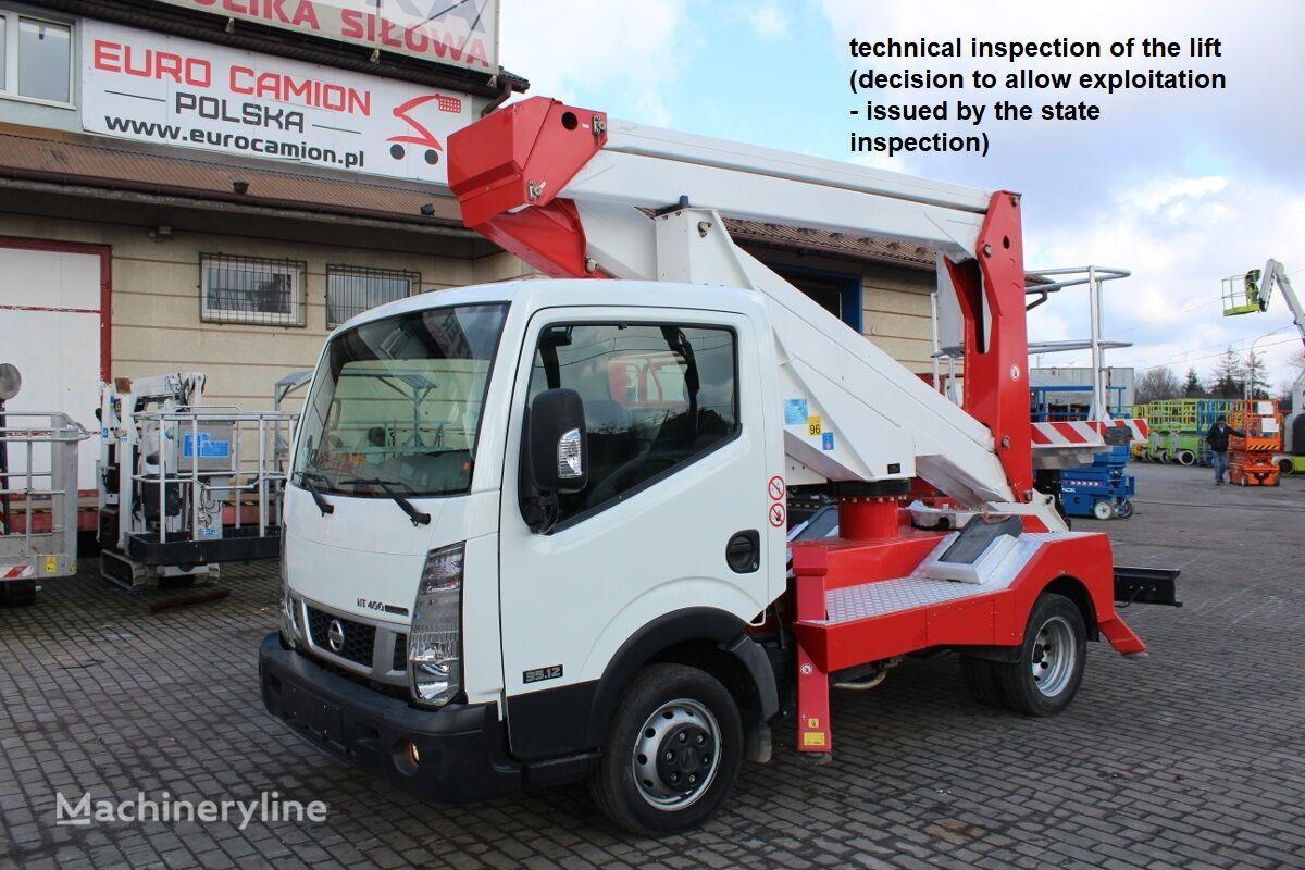 NISSAN Cabstar NT400 - 20 m Palfinger P200A bucket truck