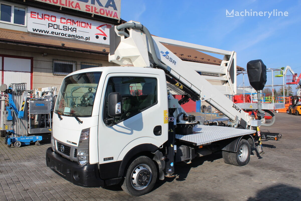 NISSAN Cabstar NT400 - 24 m GSR E240PX (technical inspection) bucket truck