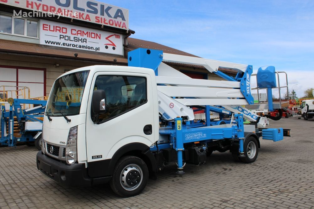 new NISSAN Cabstar NT400 35.13 new Socage DA420 X-Factor - 20 m available i bucket truck