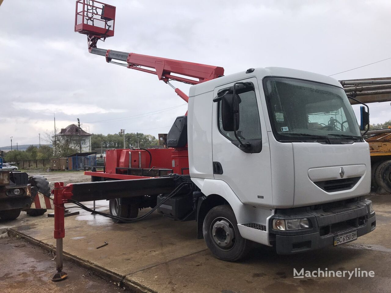 RENAULT Midlum RAM (Germany)16m. 250 kg! Svizha! bucket truck