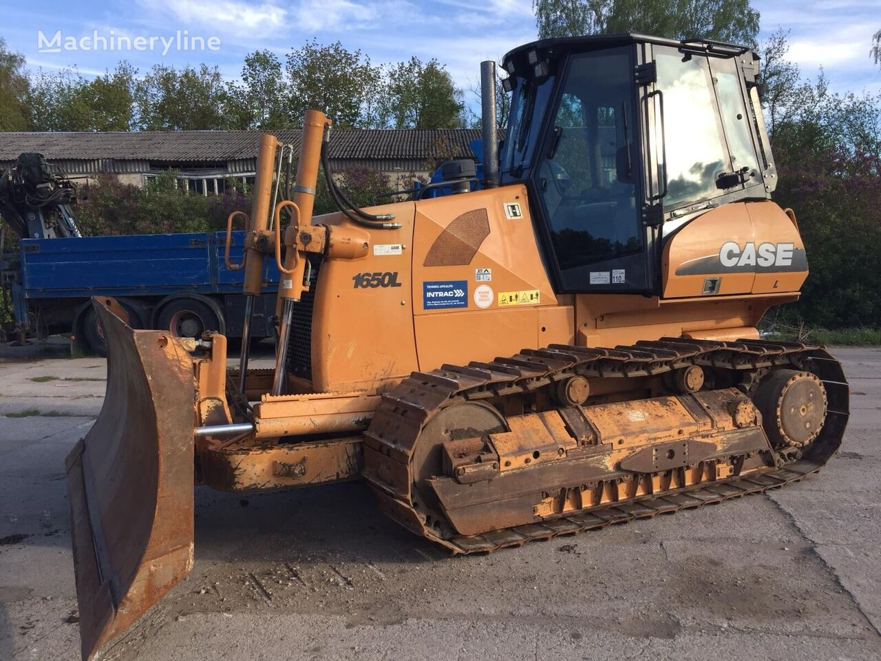 CASE 1650 L 17.5 Ton bulldozer