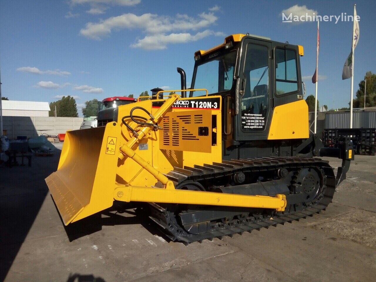 new CHANGLIN CLT120N bulldozer