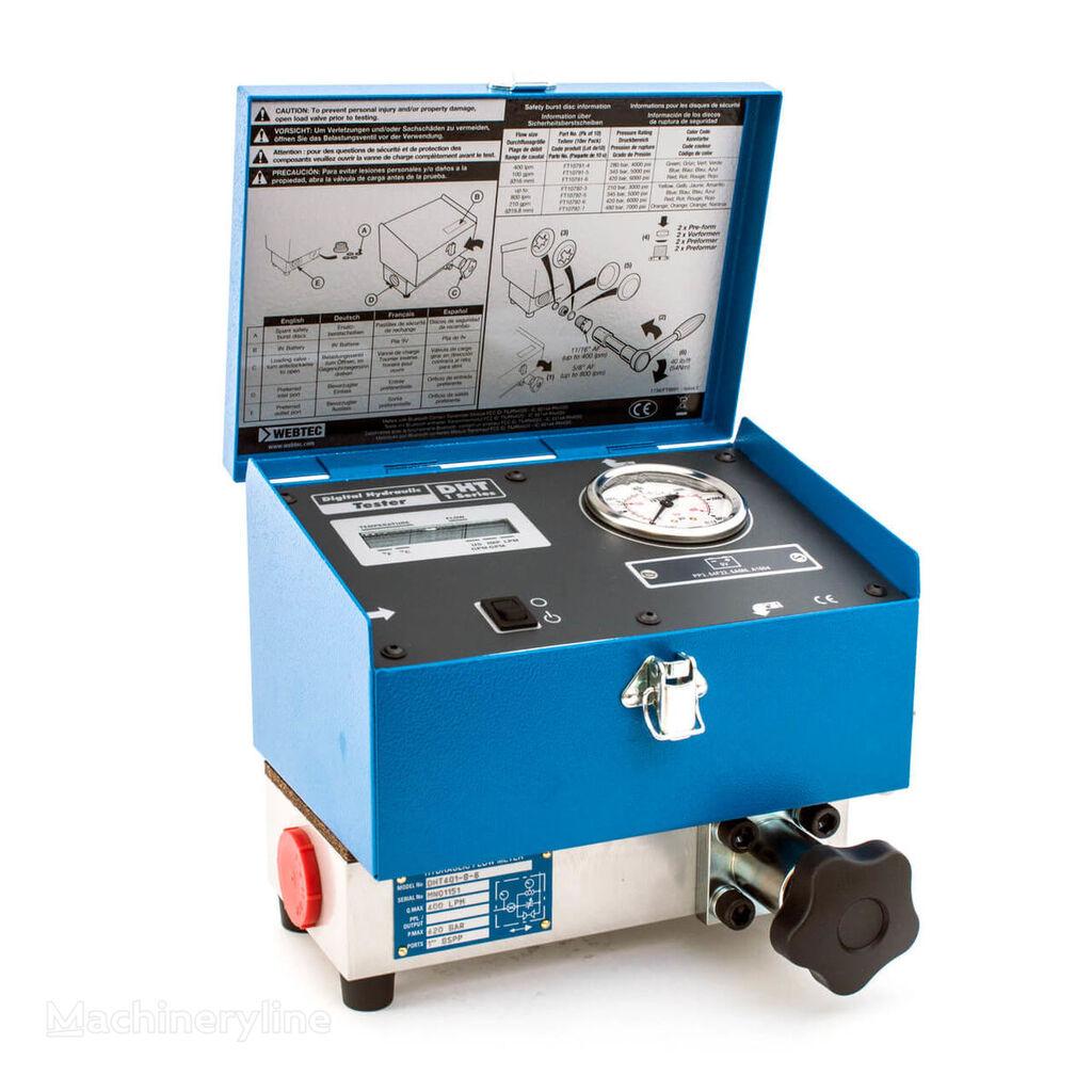 new Webtec DHT 401 Flowmeter hydraulic tester car diagnostic tools