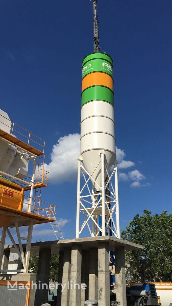 new FABO 100 TONS BOLTED SILO READY IN STOCK NOW BEST QUALITY cement silo