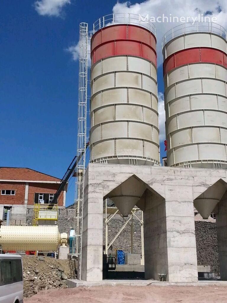 new POLYGONMACH 500T cement silo