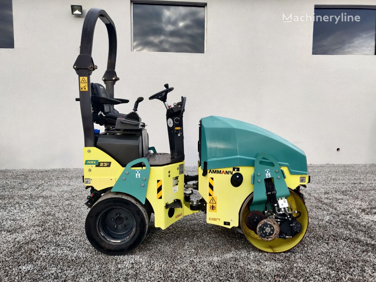 AMMANN ARX 23 K  combination roller