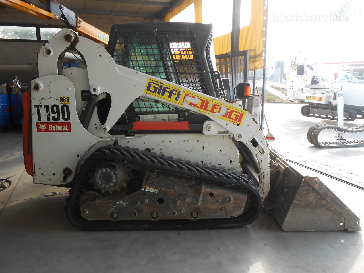 BOBCAT T 190 compact track loaders for sale, small track