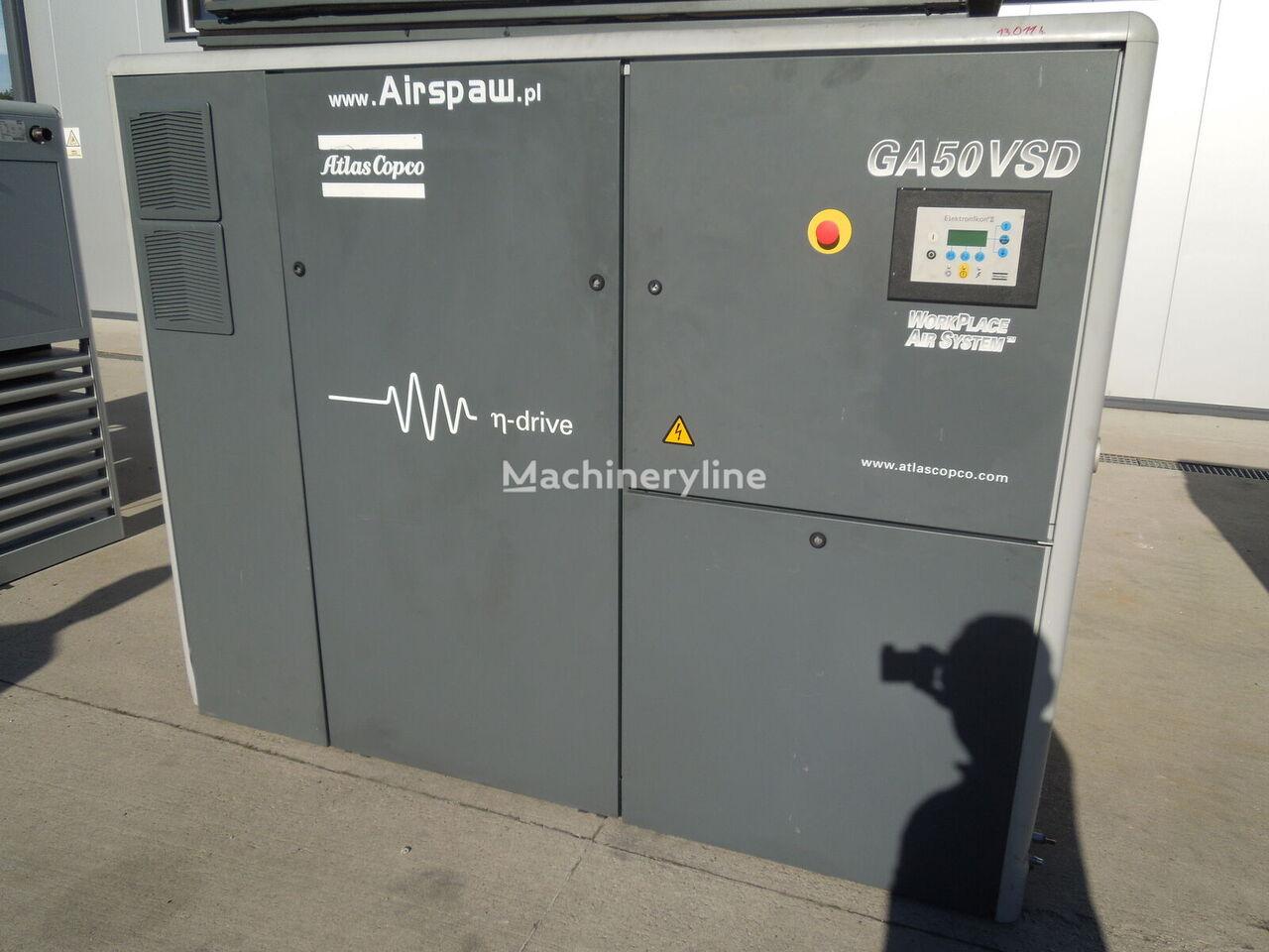 Atlas Copco GA50VSD compressor