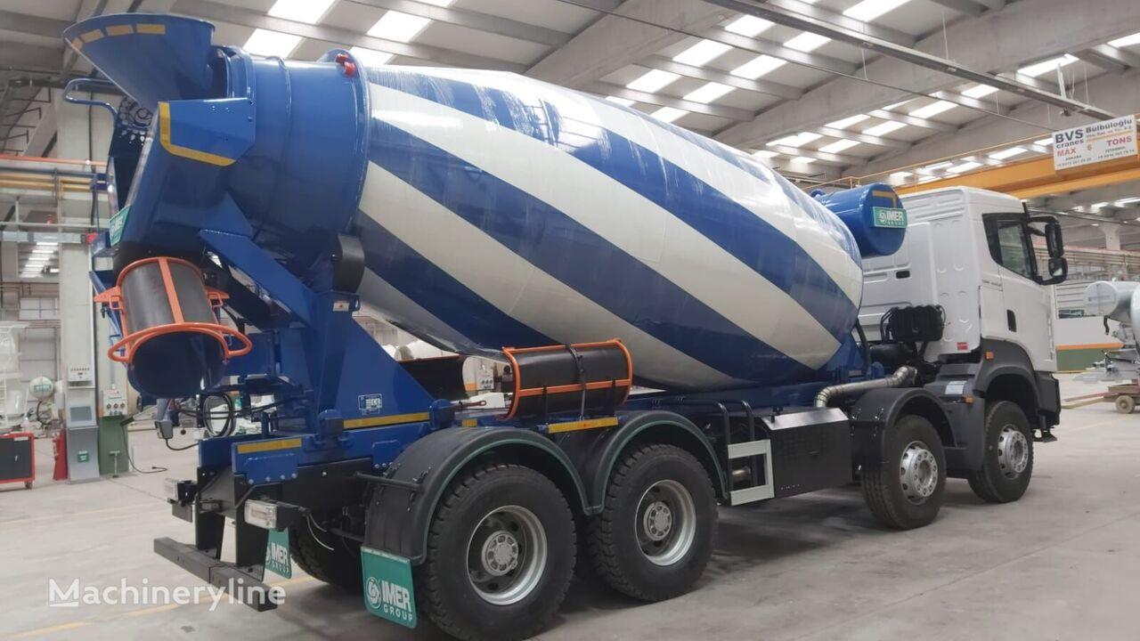 new IMER Group  on chassis BMC IMER 12 v3 concrete mixer truck