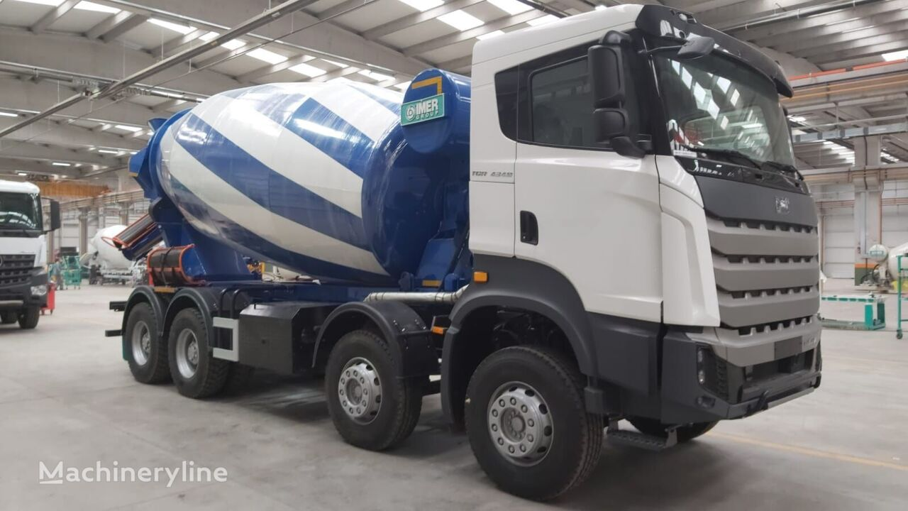new IMER Group  on chassis BMC IMER 12 v3 concrete mixer truck