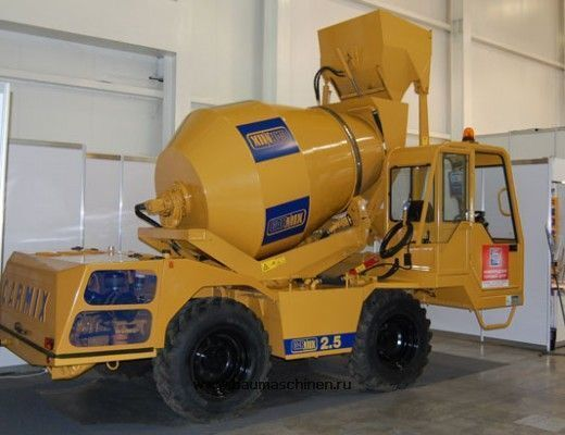 new CARMIX 2.5 concrete mixer truck
