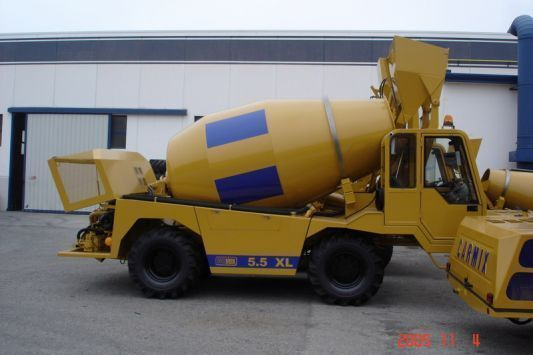 new CARMIX 5.5 XL concrete mixer truck