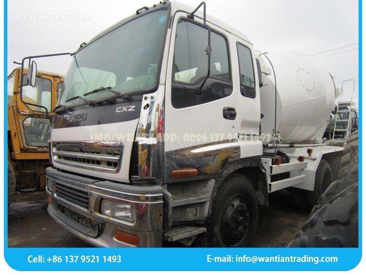 ISUZU CXZ concrete mixer truck