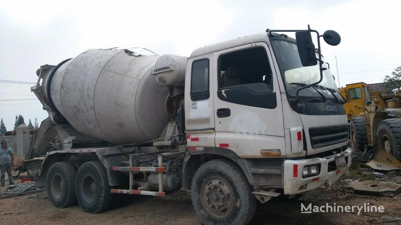ISUZU CXZ81K concrete mixer truck