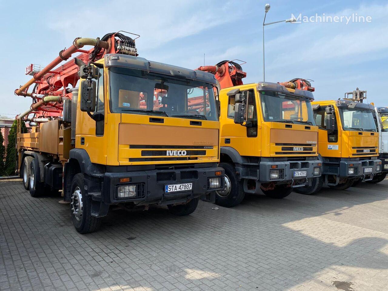 Cifa Metro on chassis IVECO Magirus MP2603E35 6x4 CIFA Metro 31 m City Hall concrete mixer truck