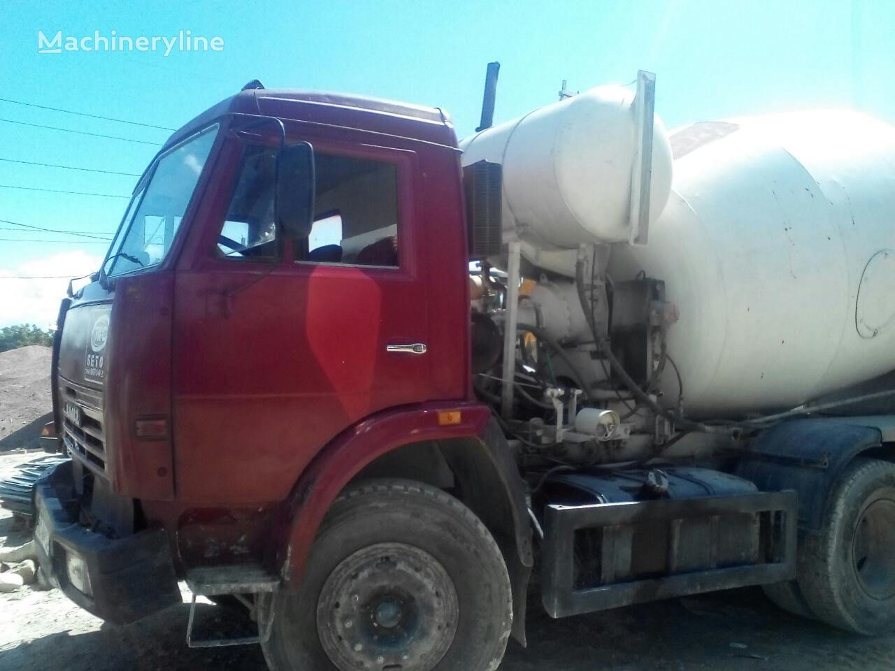 KAMAZ concrete mixer truck