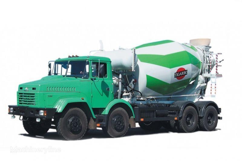 KRAZ 7133P4  concrete mixer truck