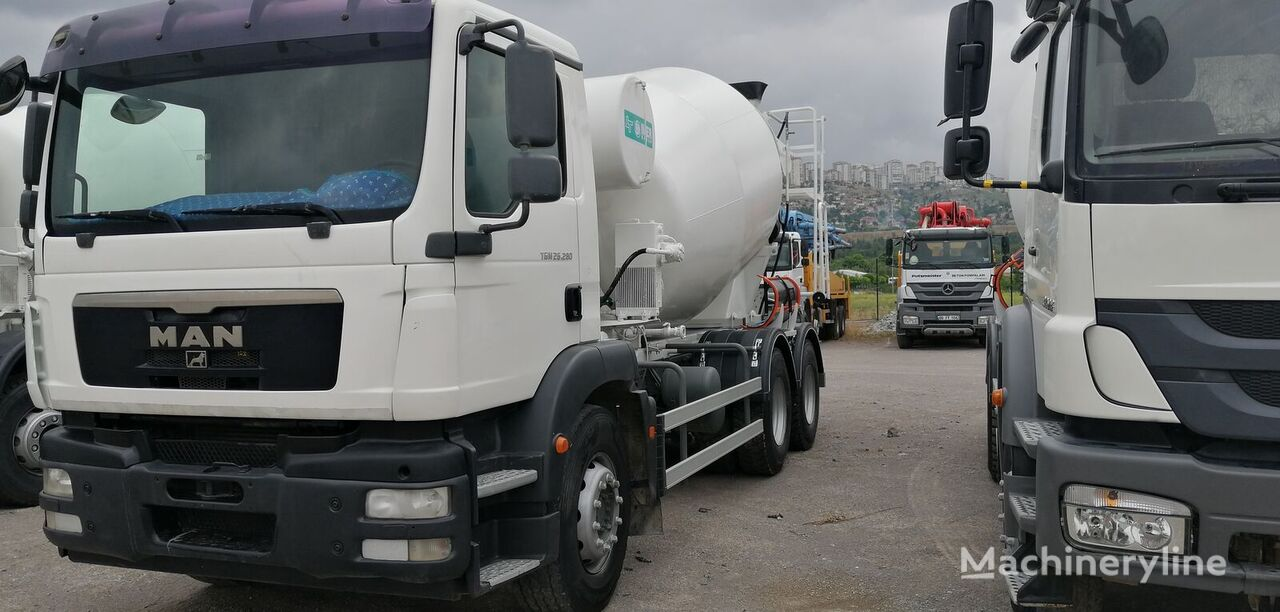 IMER-L&T 2011 on chassis MAN 2011 concrete mixer truck