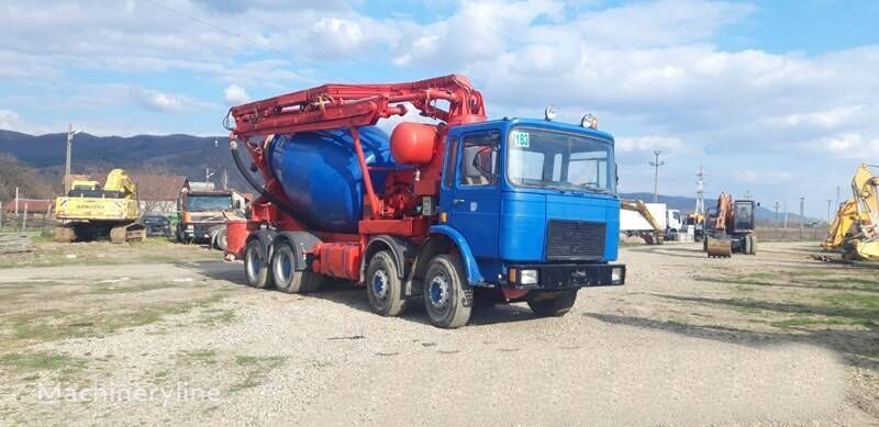 MAN 30.331 concrete mixer truck