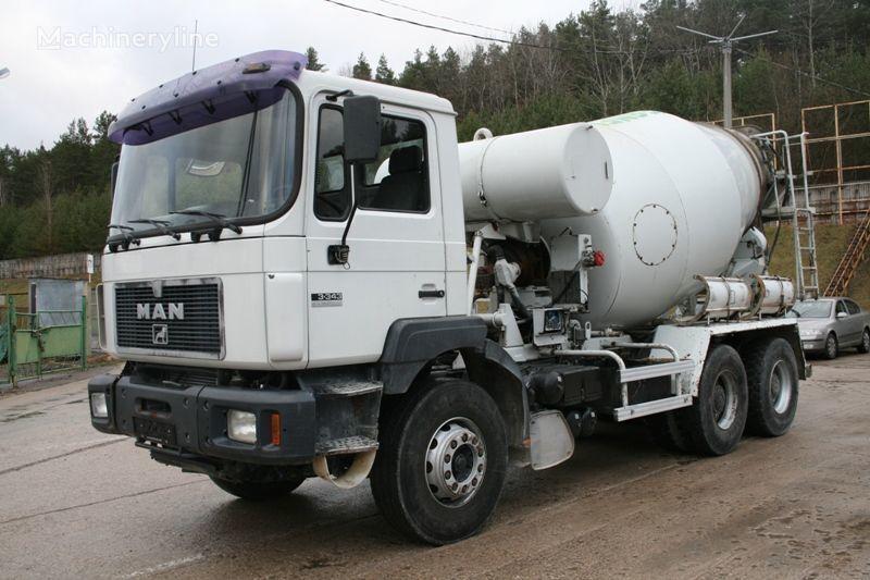 MAN 33.343 concrete mixer truck