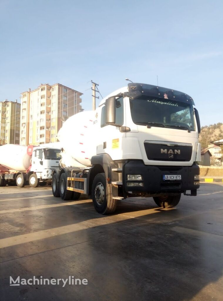 Stetter  on chassis MAN 33.360  MİXER 1 PİECE READY  concrete mixer truck