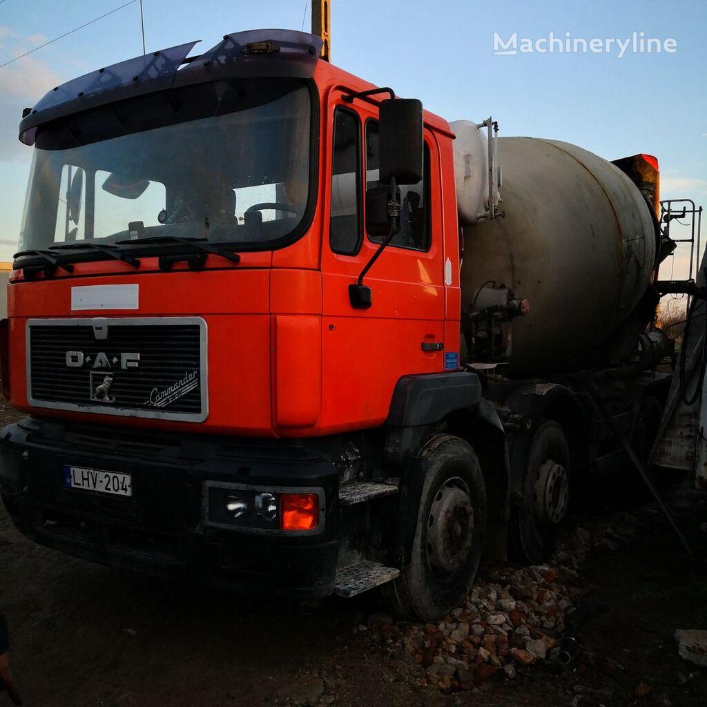 MAN 35.403 concrete mixer truck